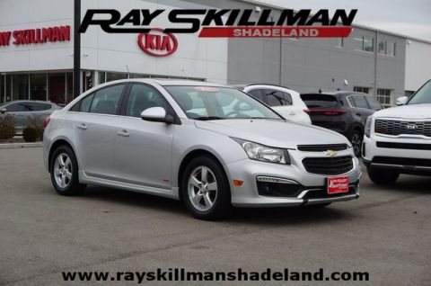 Pre-Owned 2016 Chevrolet Cruze Limited 1LT Auto